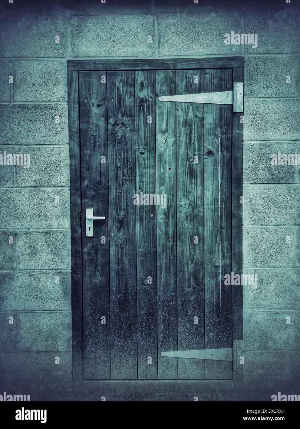 Geschlossener Tür Stockbild