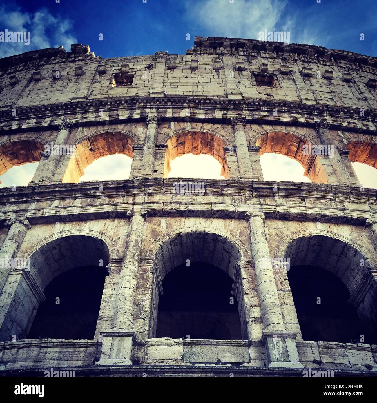 Das Kolosseum, Rom Stockbild