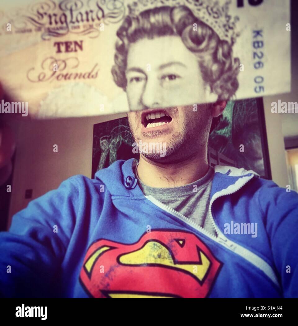 Super-Königin Stockfoto
