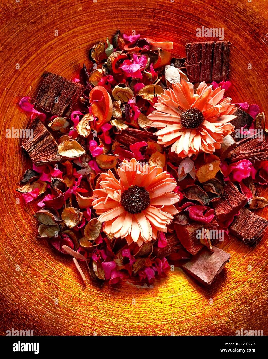 Duftende Blüten Stockfoto