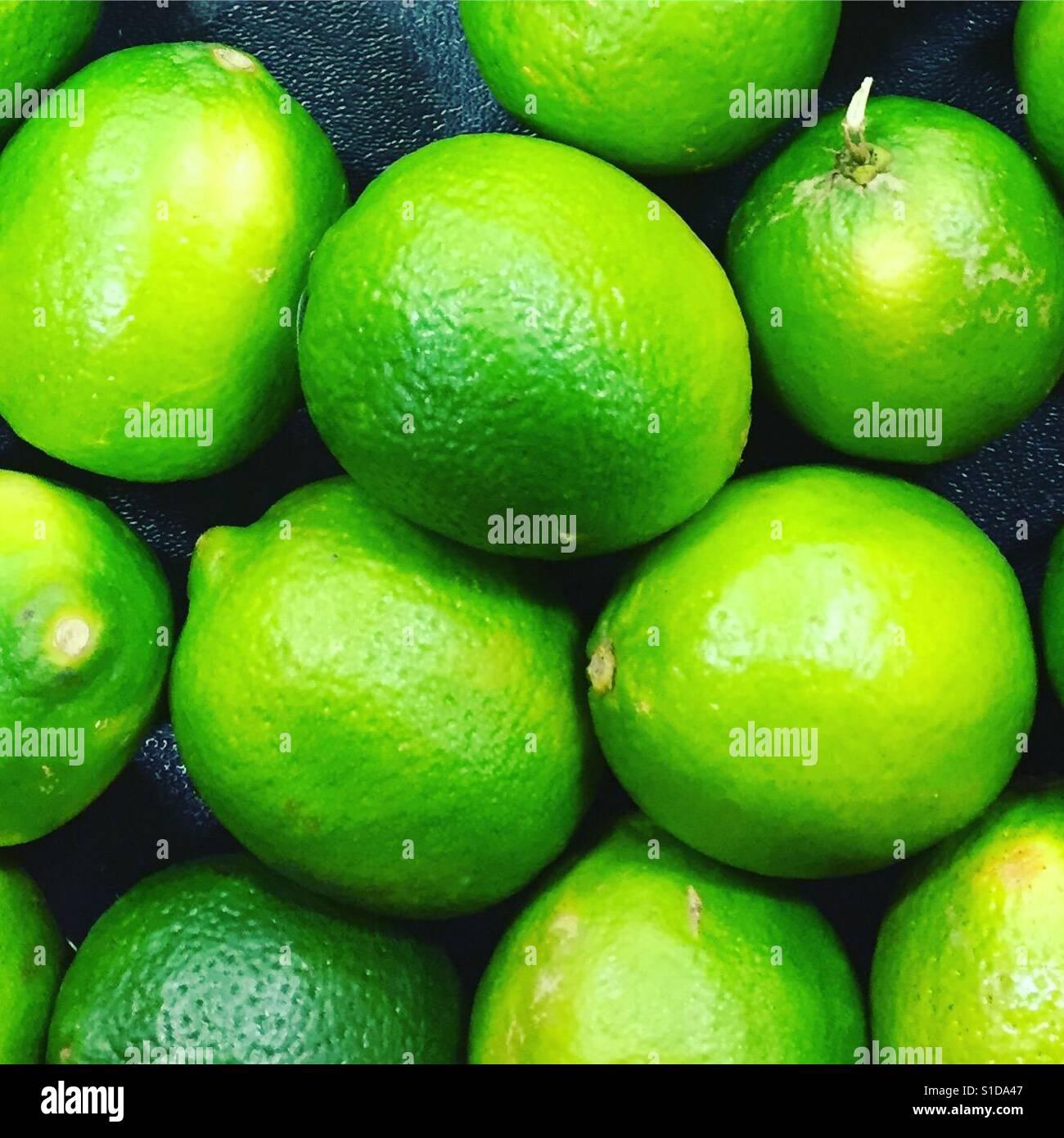 Limes von k.r. Stockfoto
