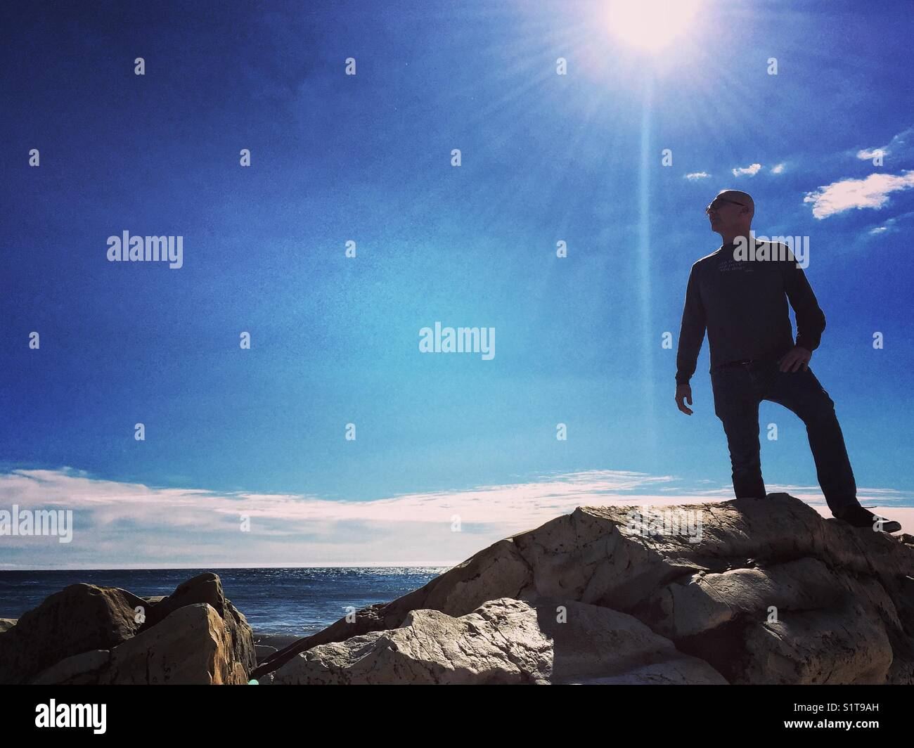 West Coast vibes Stockbild