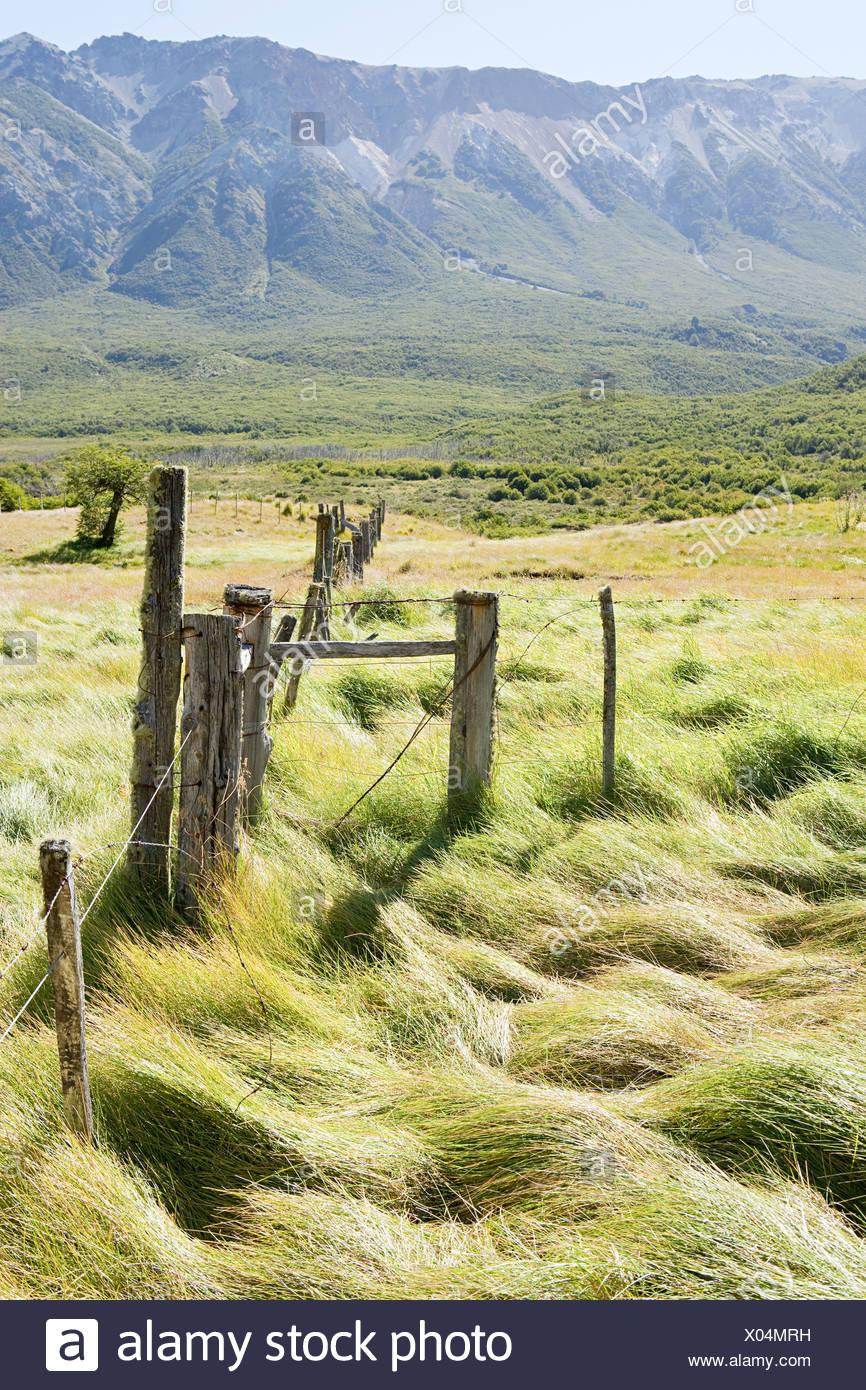 Ruhige ländliche Landschaft in Argentinien Stockbild