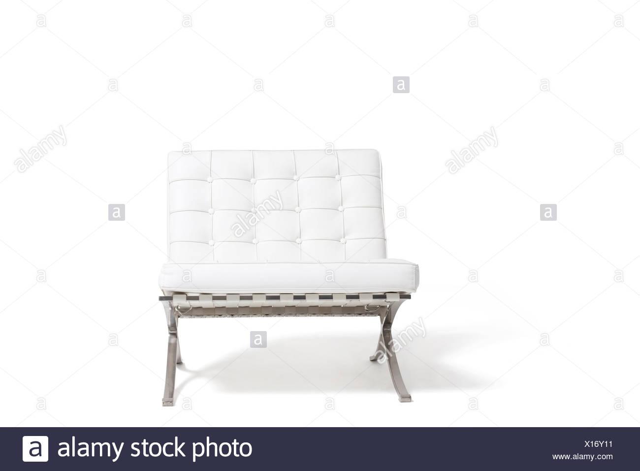 Weißer Stuhl Stockbild