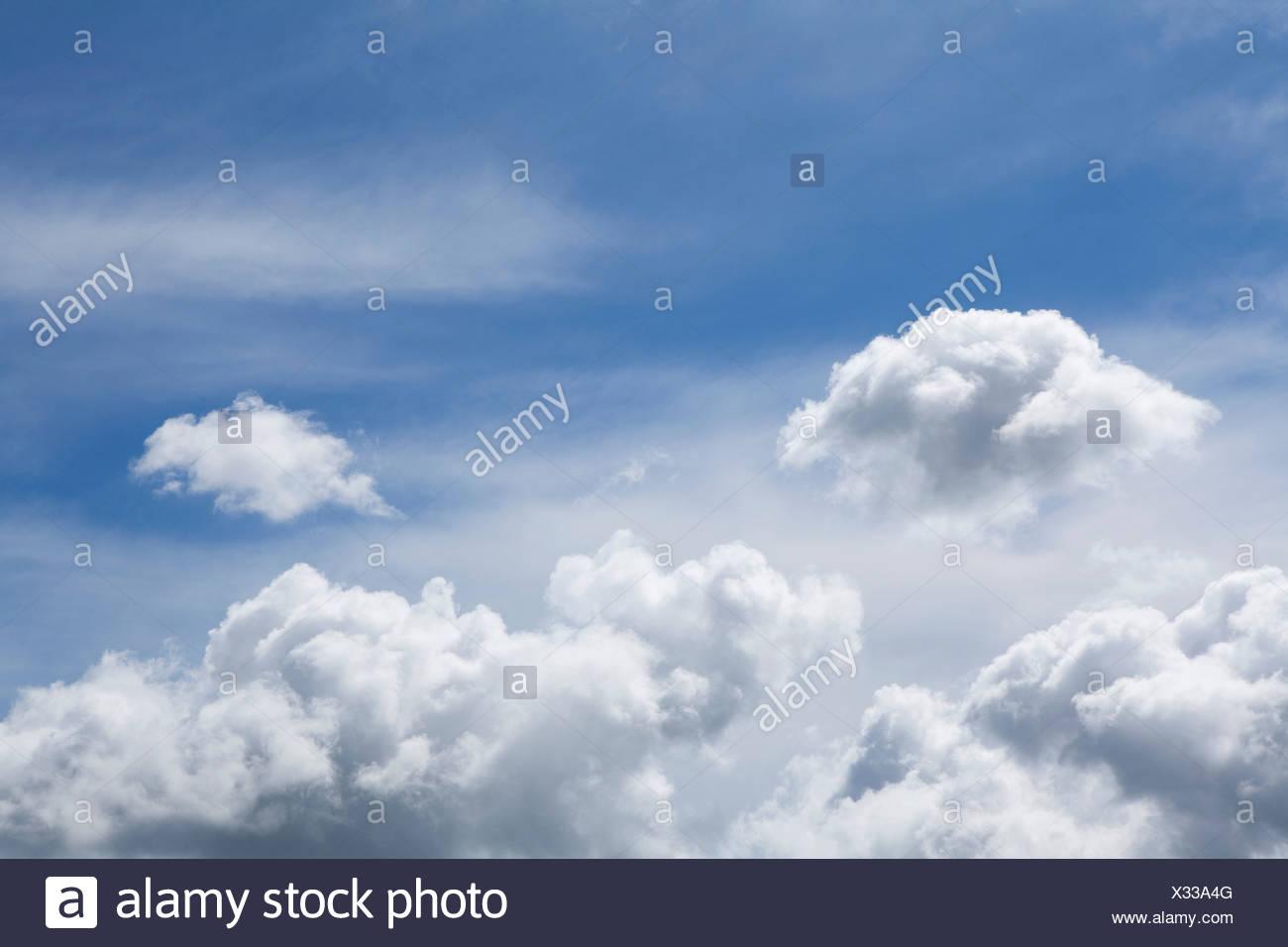 Wolken am Himmel Stockbild