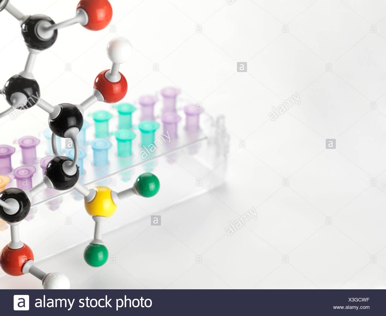 Chemische Forschung Konzeptbild Stockbild