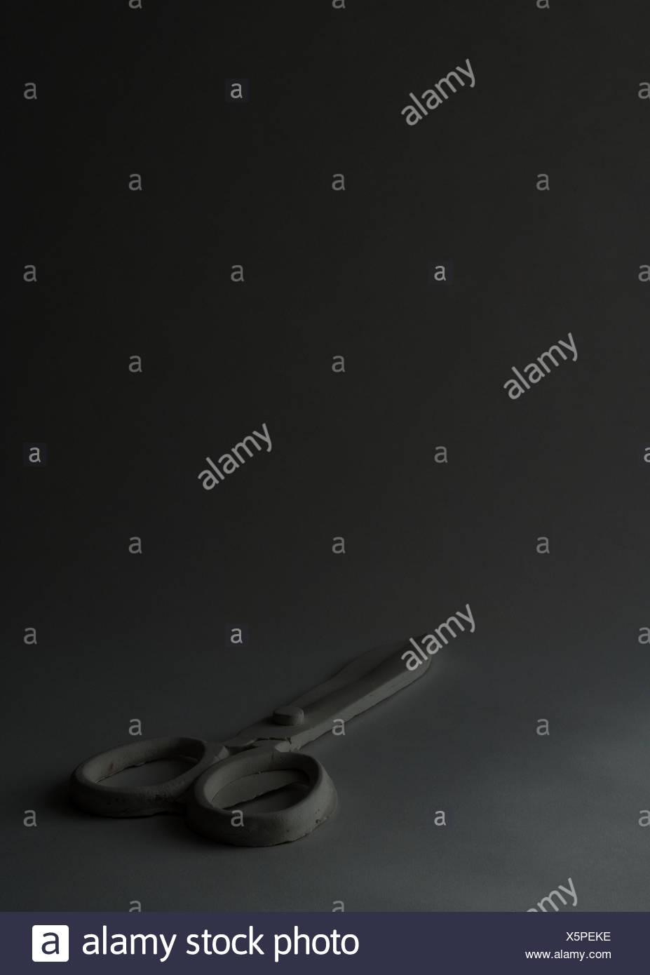 Schere, Studio gedreht Stockbild