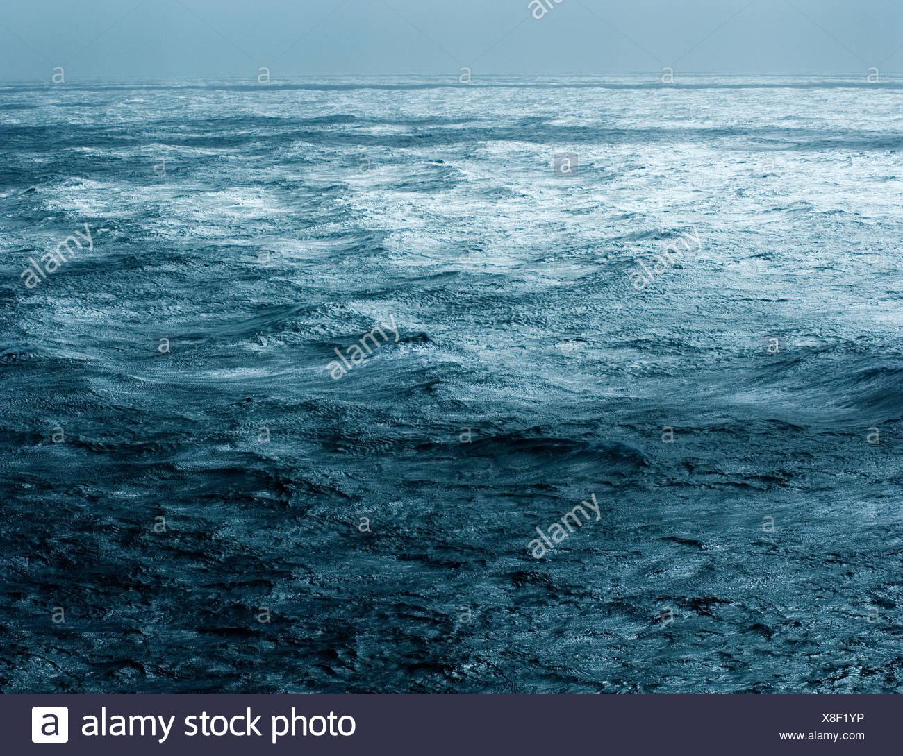 Meer und Horizont Stockbild