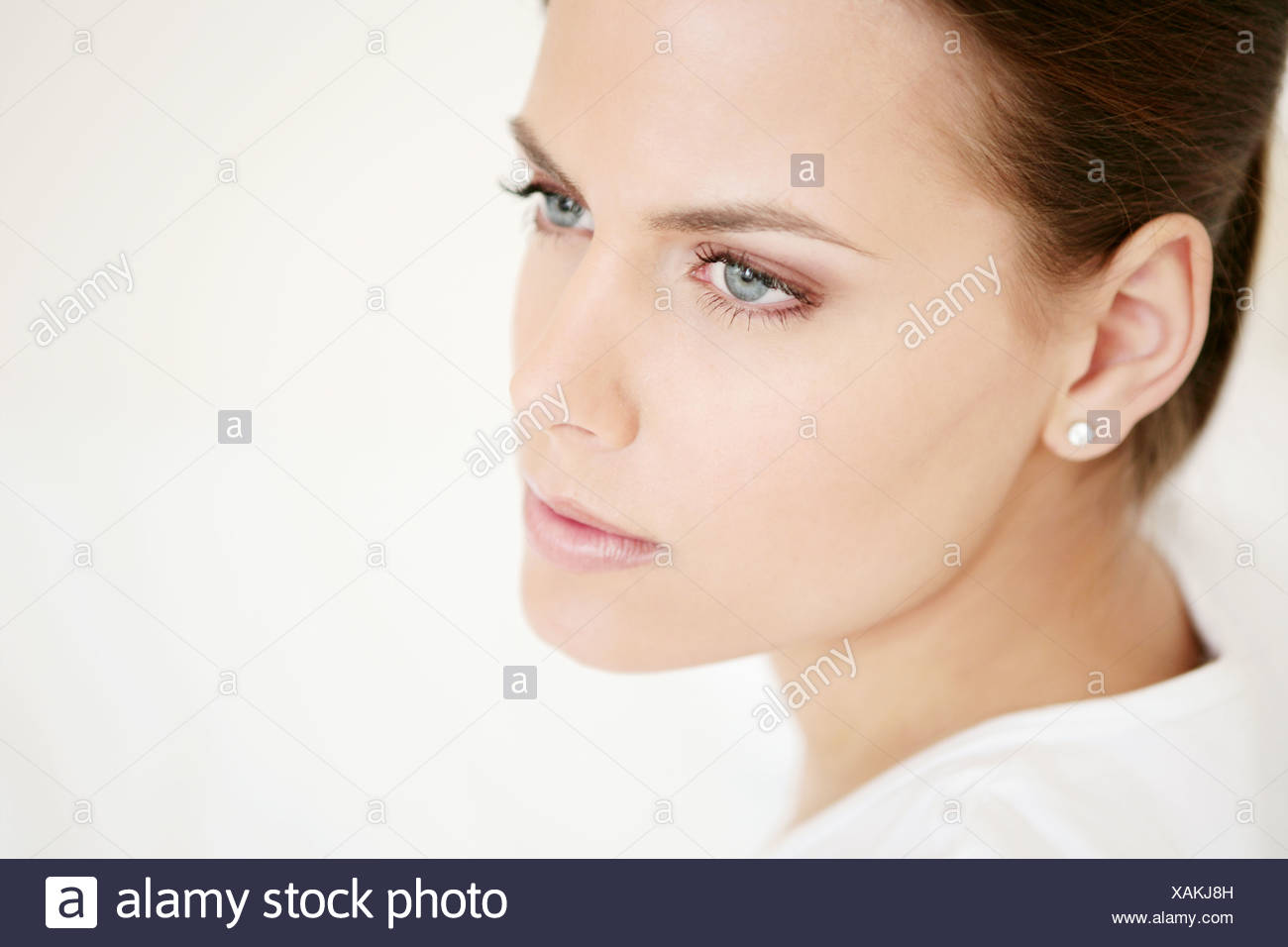 Gesicht, jung, Frau, Vitalität, frische, Schmink, Modell, Erwachsener, Frau, Kopf, Schönheit, 20-25 Jahre, 18-19 Jahre, schöne, Wellness, Stockbild