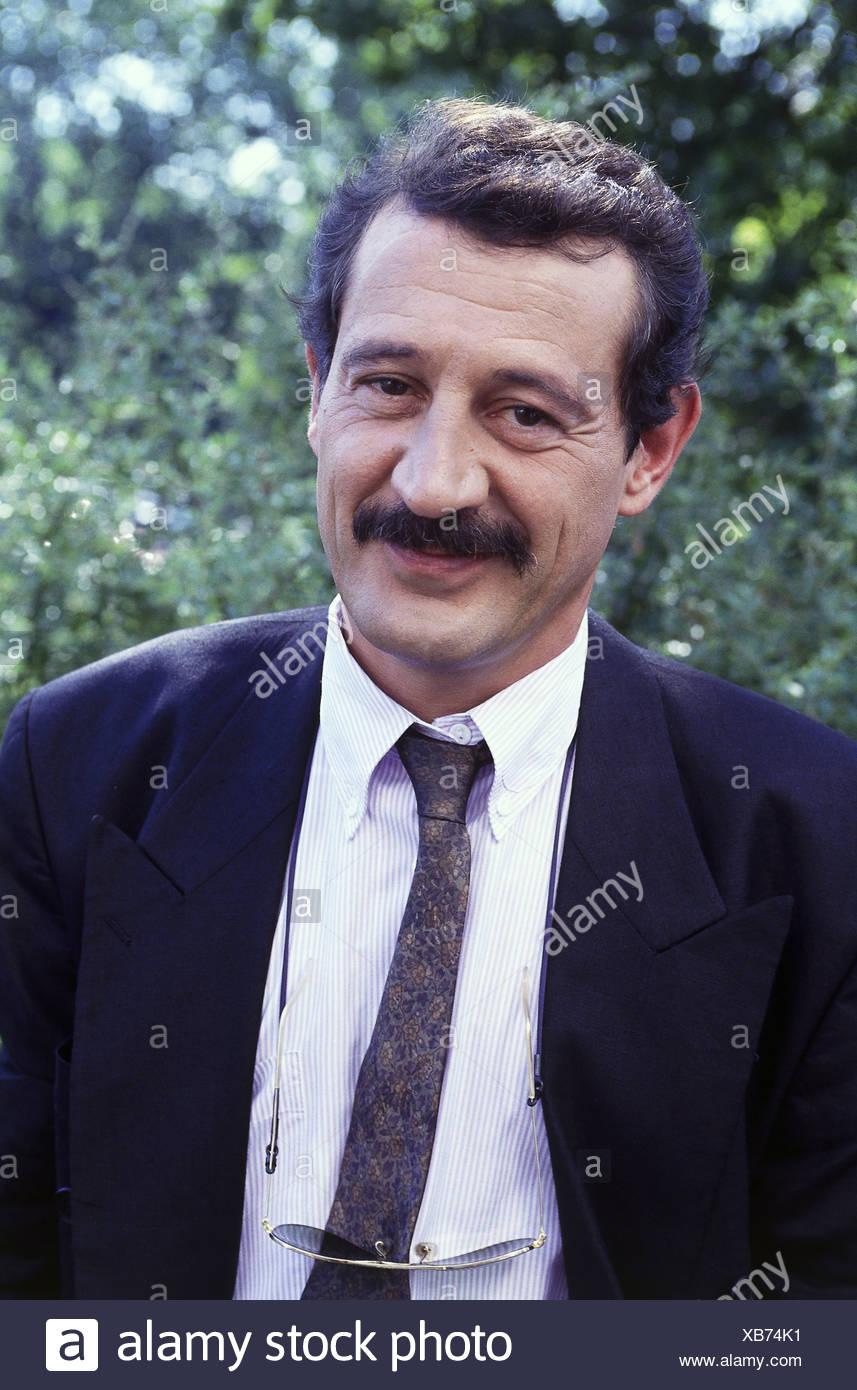 Leclerq, Patrick, 1950 - 15.1.2011, deutscher Journalist, Porträt, der 1990er Jahre Stockbild