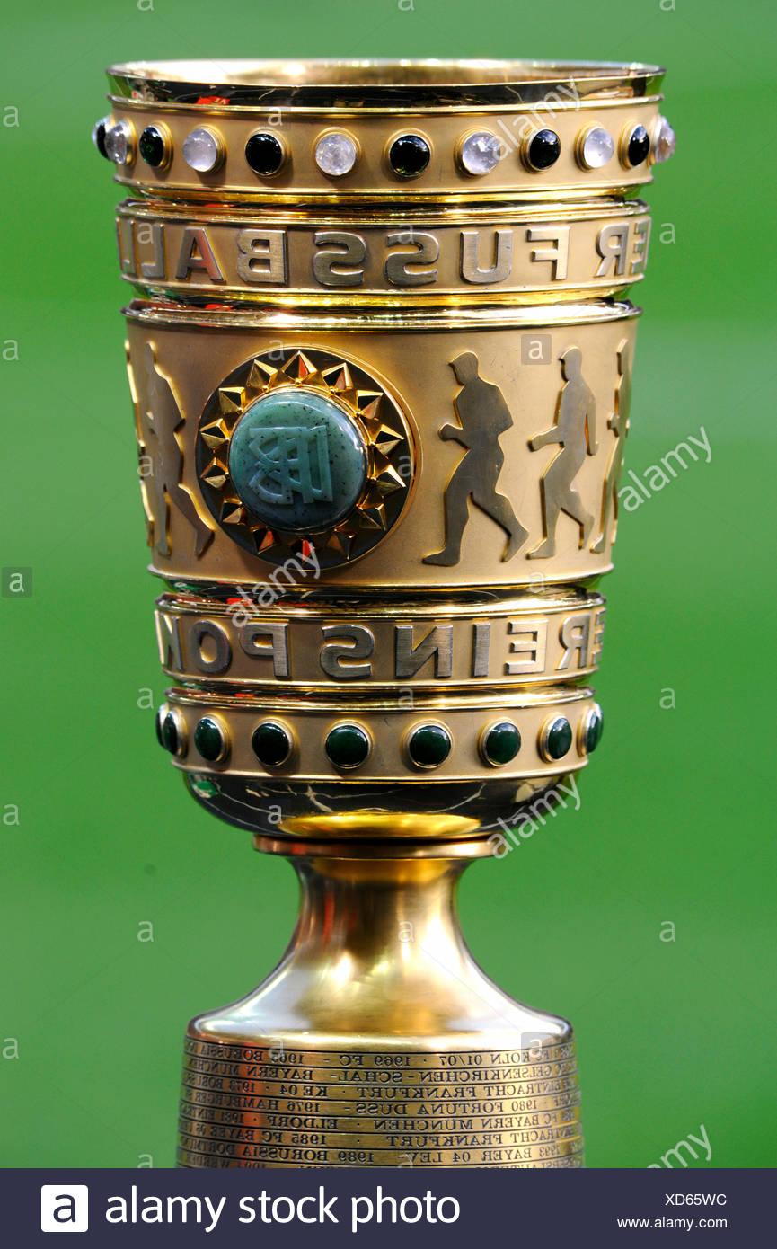 DFB-Pokal oder DFB-Pokal, DFB-Pokal-Finale, BVB oder Borussia Dortmund Vs FC Bayern München 5-2, 12.05.2012, Olympiastadion, Berlin Stockbild