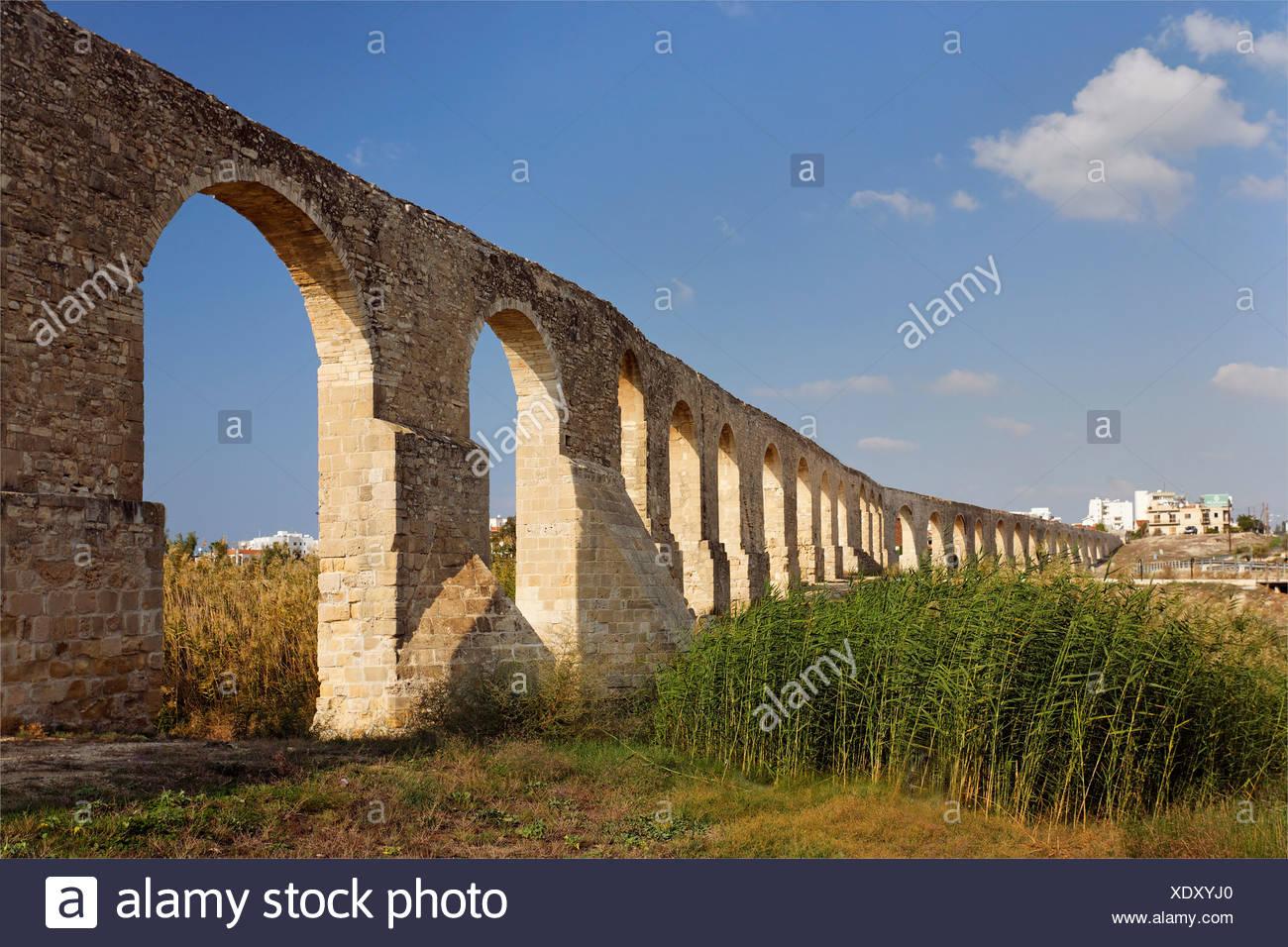 Osmanischen Aquädukt, 1745, versorgt Larnaka mit Wasser bis 1939, Zypern, Asien Stockbild