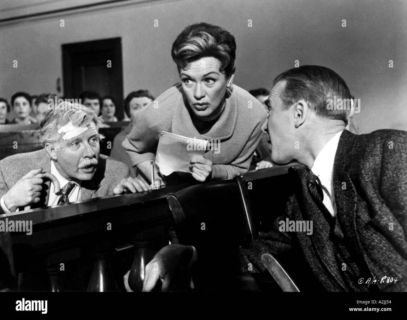 Anatomía de un asesinato 1959 película protagonizada por l r Arthur ...