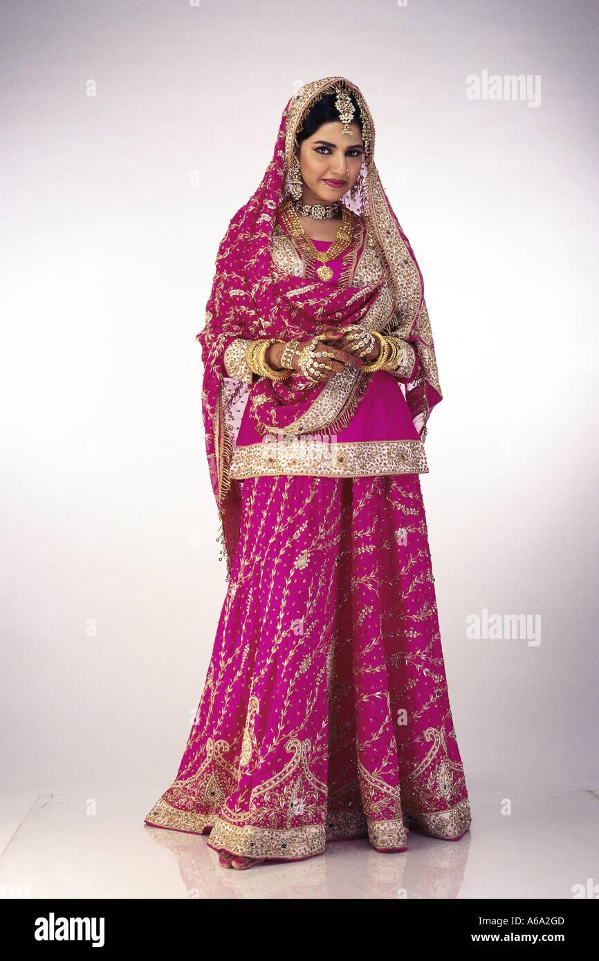 Musulmanes indios vestidos de novia boda nupcial vestido nupcial ...