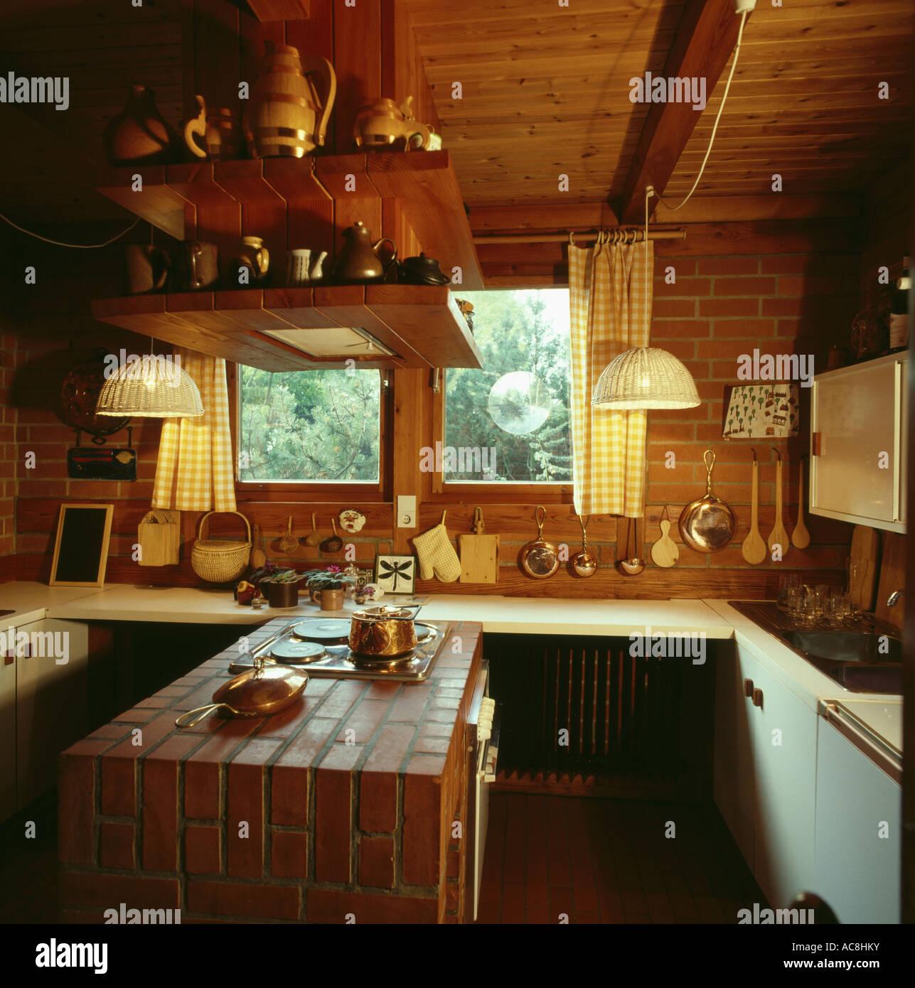 Fantástico Ideas Creativas Para Techos De Cocina Fotos - Como ...