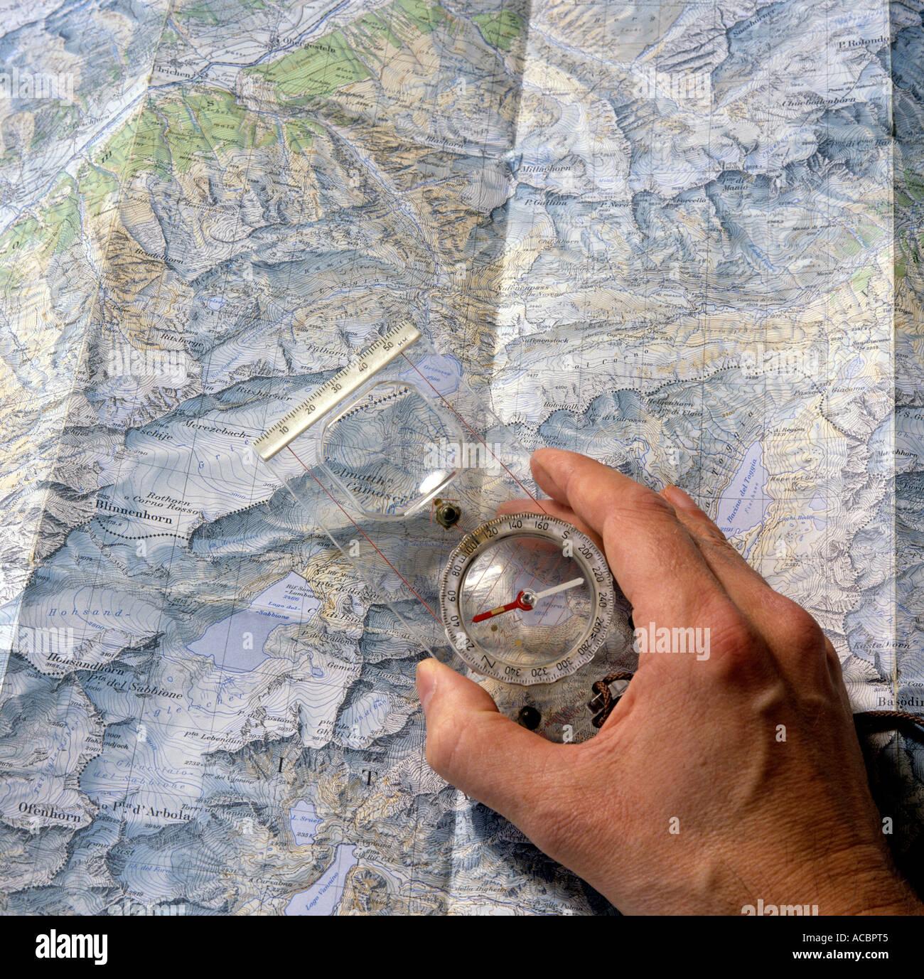 monte redondo mapa Brújula y mapa para la planificación de viaje de montaña Monte  monte redondo mapa