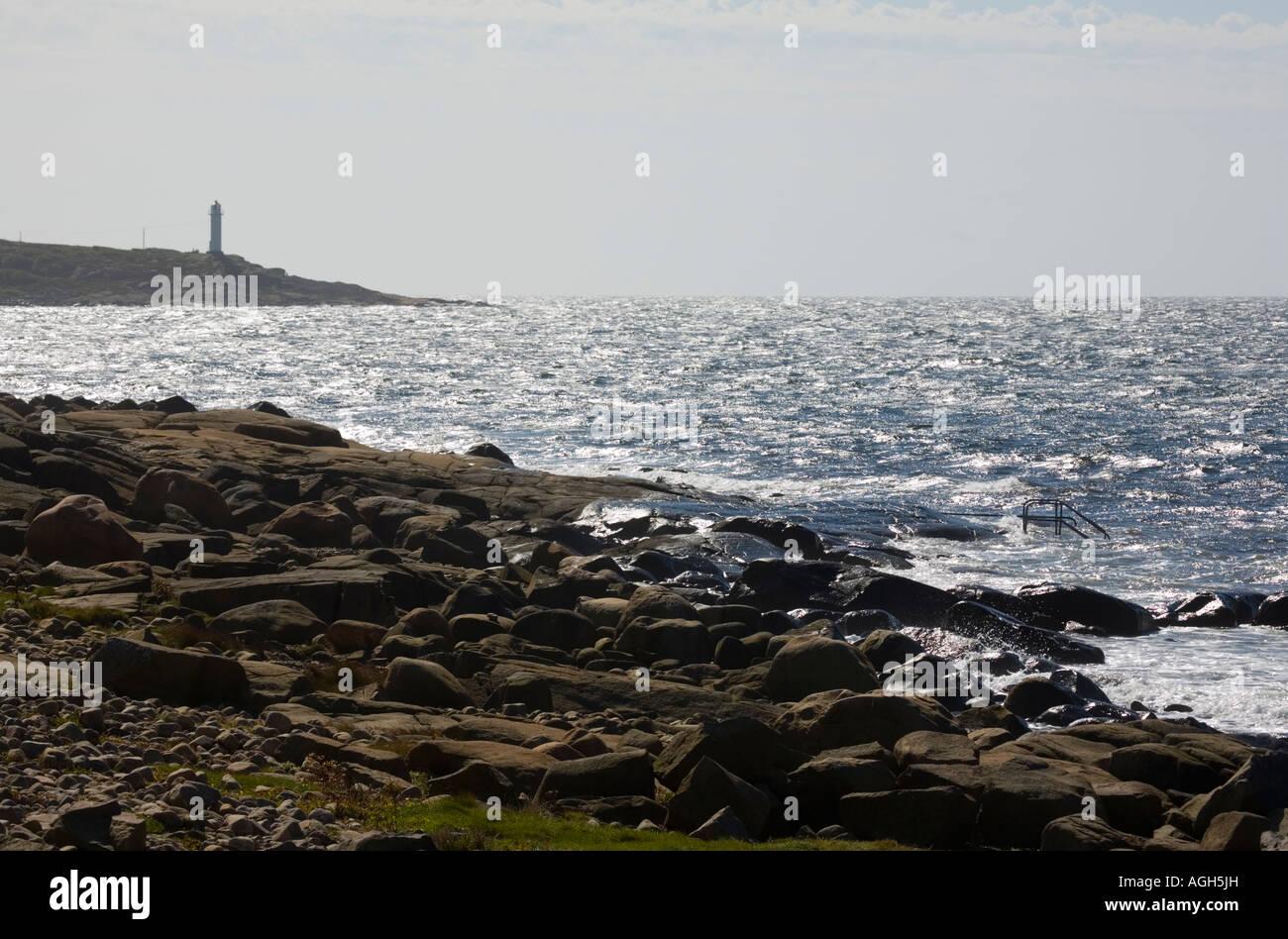 Suecia Halland Varberg Icnica Seaside Resort Costa Sueca Rocas Y
