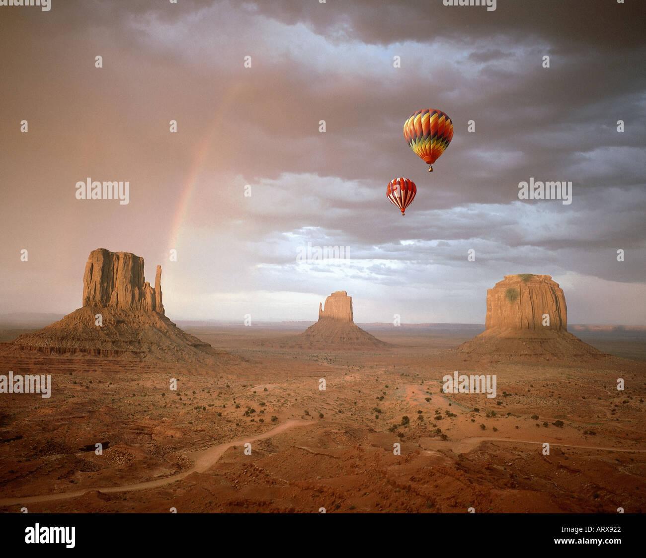 Estados Unidos - Arizona: Monument Valley Navajo Tribal Park Imagen De Stock