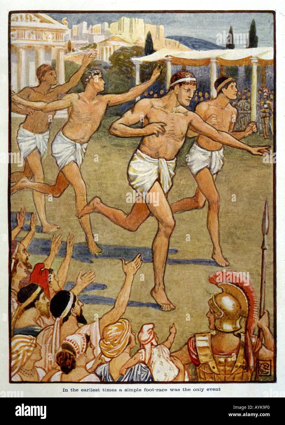 Los Antiguos Juegos Olimpicos Foto Imagen De Stock 3176943 Alamy