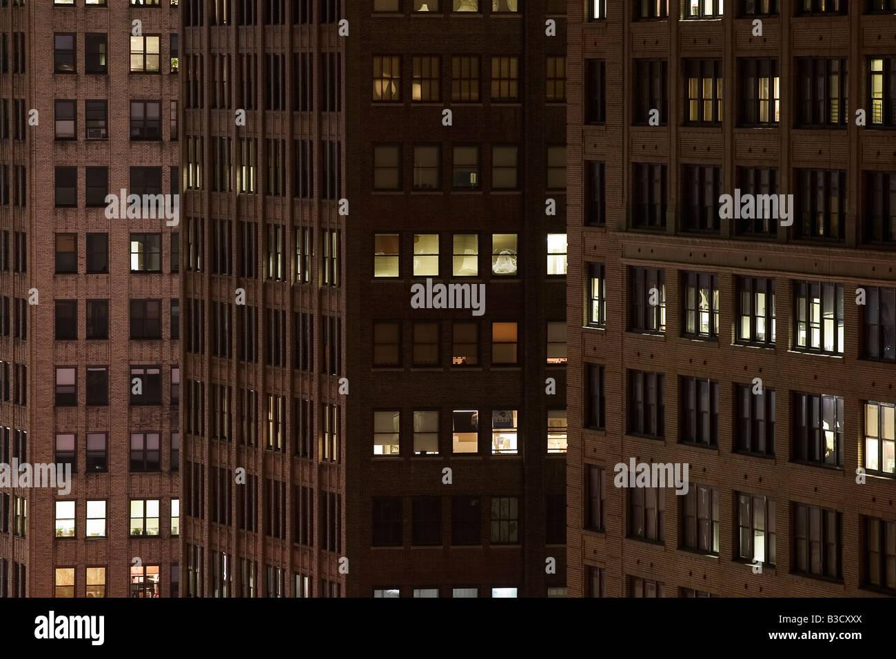 El edificio, de cerca Imagen De Stock
