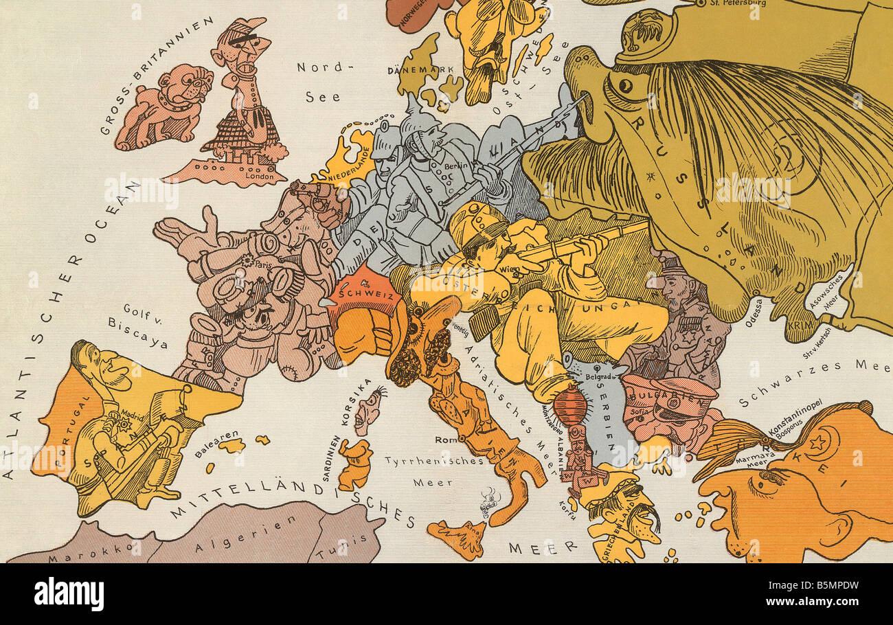 Map europe world war one imgenes de stock map europe world war 9 1914 8 0 e1 europa en 1914 mapa satrico primera guerra mundial mapas karte von gumiabroncs Images