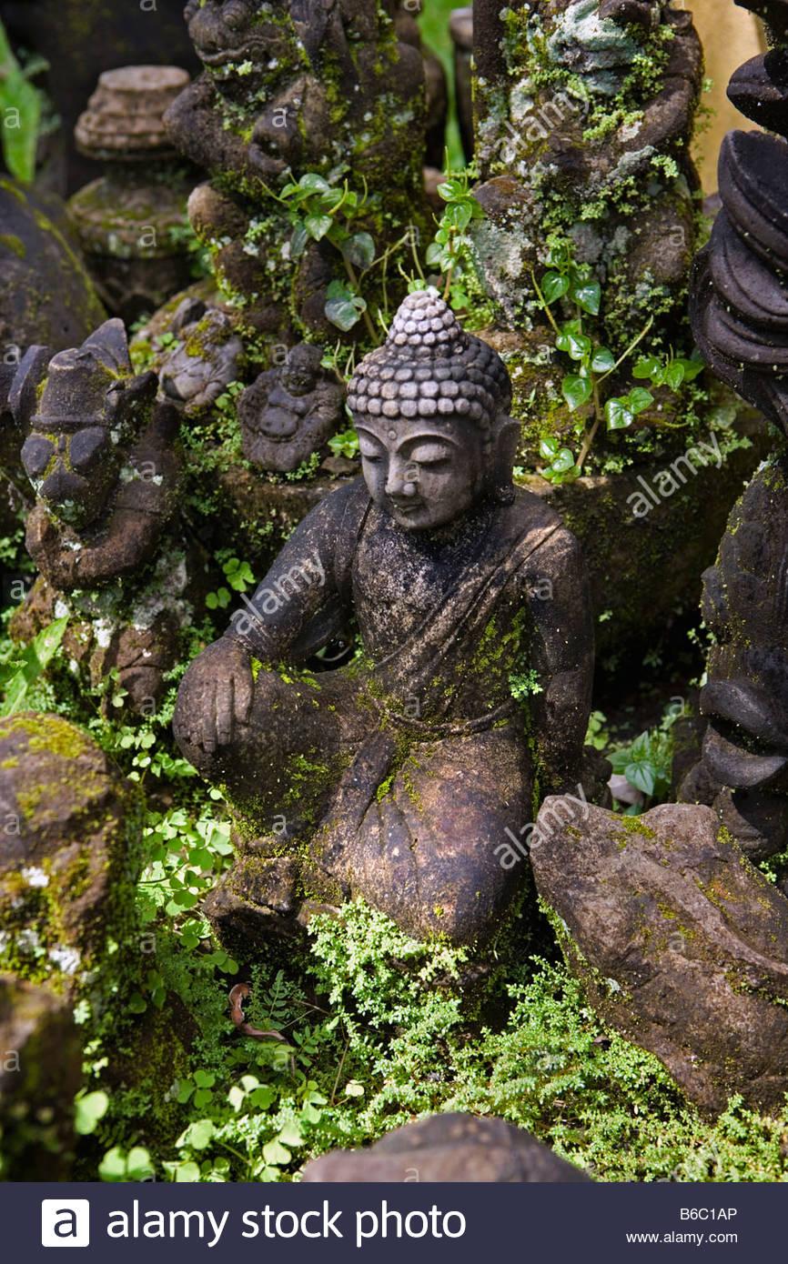 Indonesia Ubud Bali Estatuas De Jardin Foto Imagen De Stock - Estatuas-de-jardin