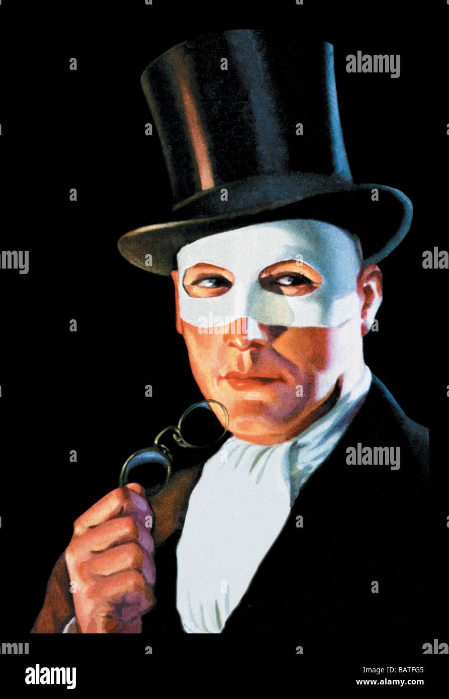 El hombre en el Masque Imagen De Stock