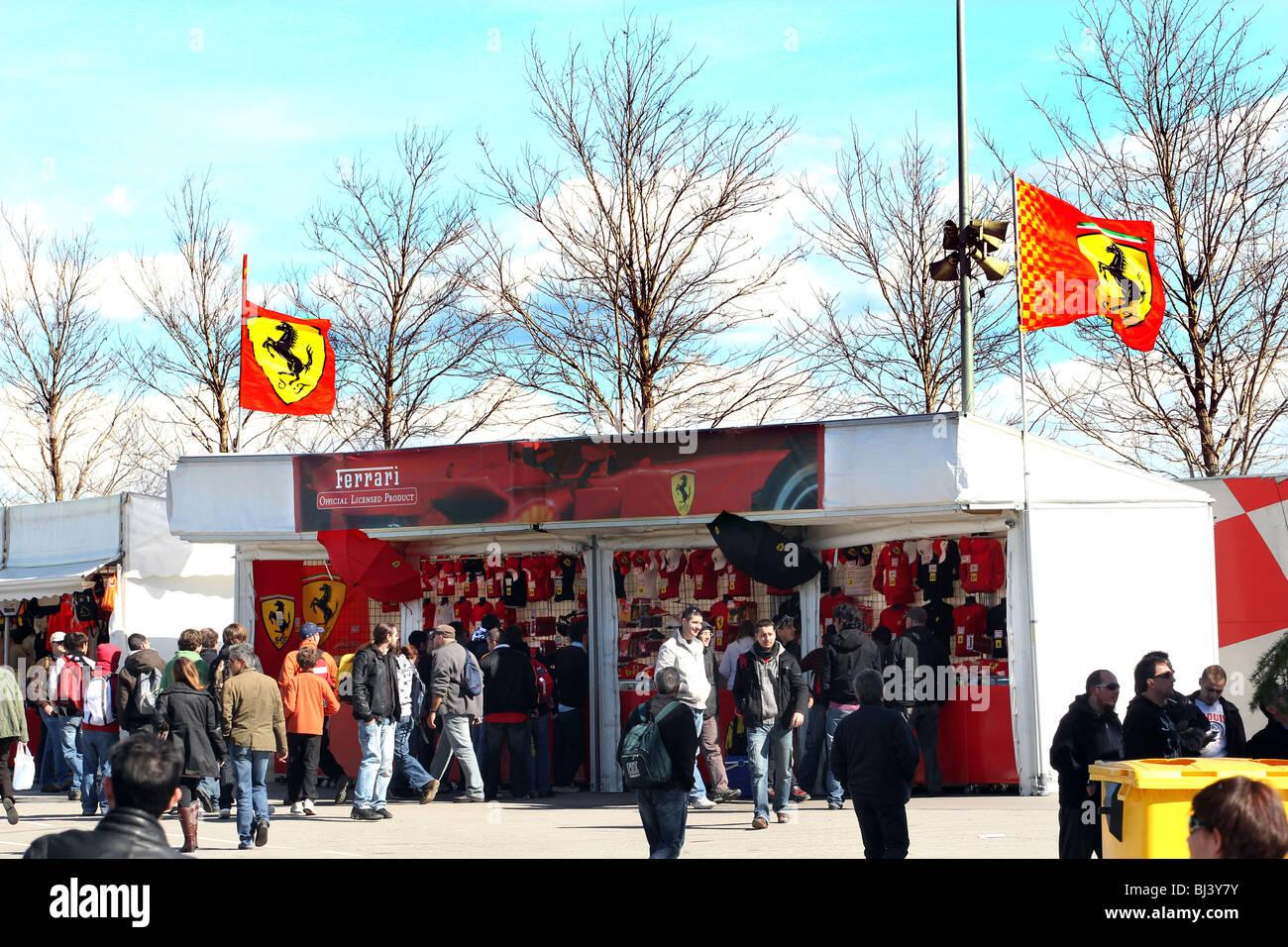 Circuito Montmelo : Ferrari recuerdos para venta en el circuito de montmelo barcelona