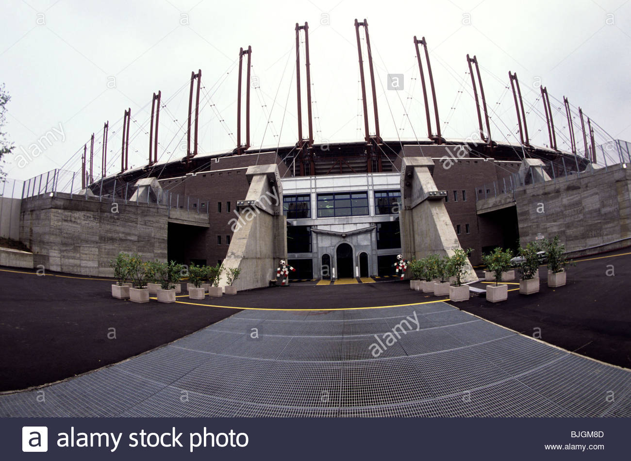 1990 el stadio delle alpi de tur n vista exterior del - Casa delle lampadine torino ...
