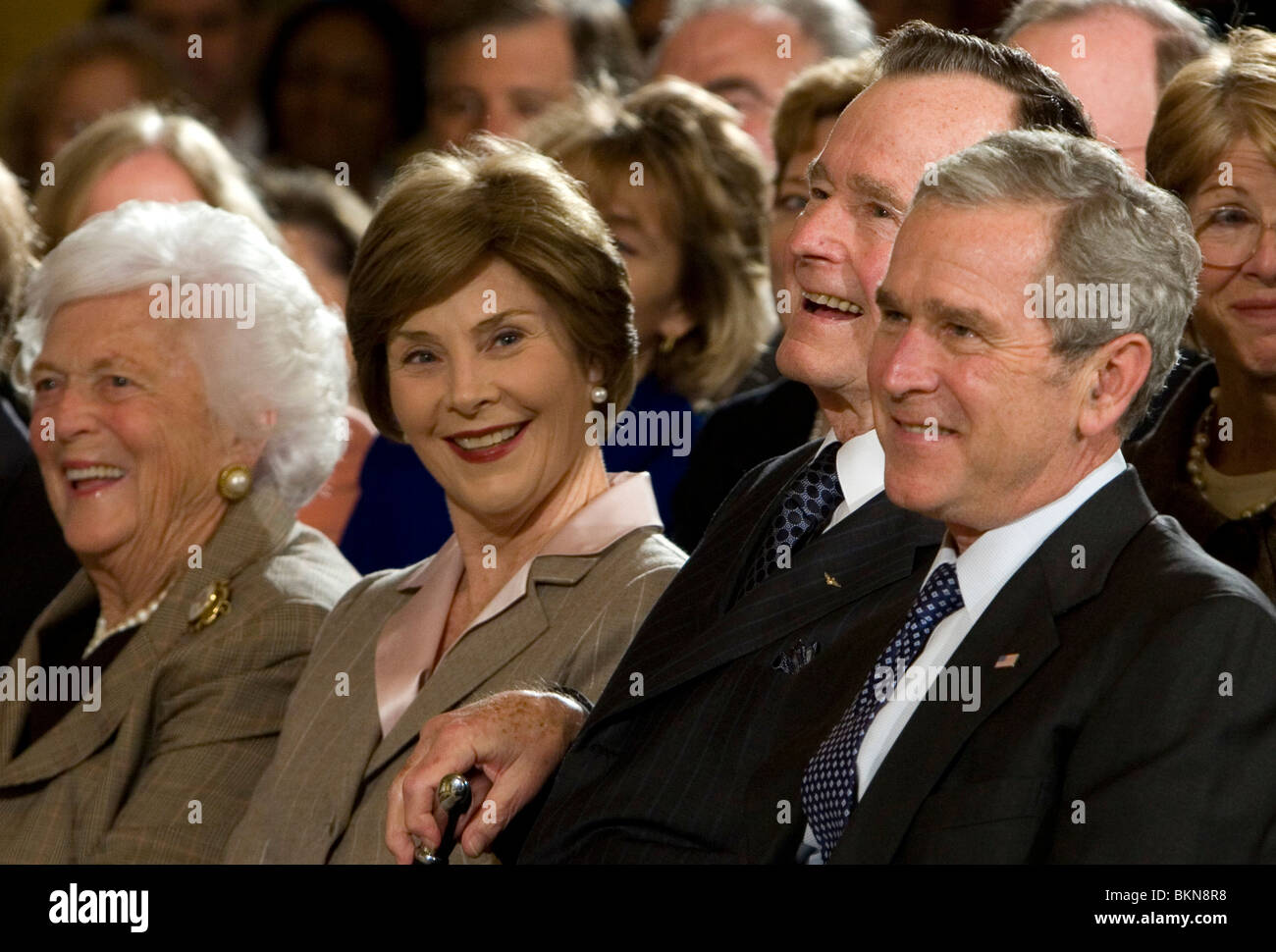 Words... George w and laura bush