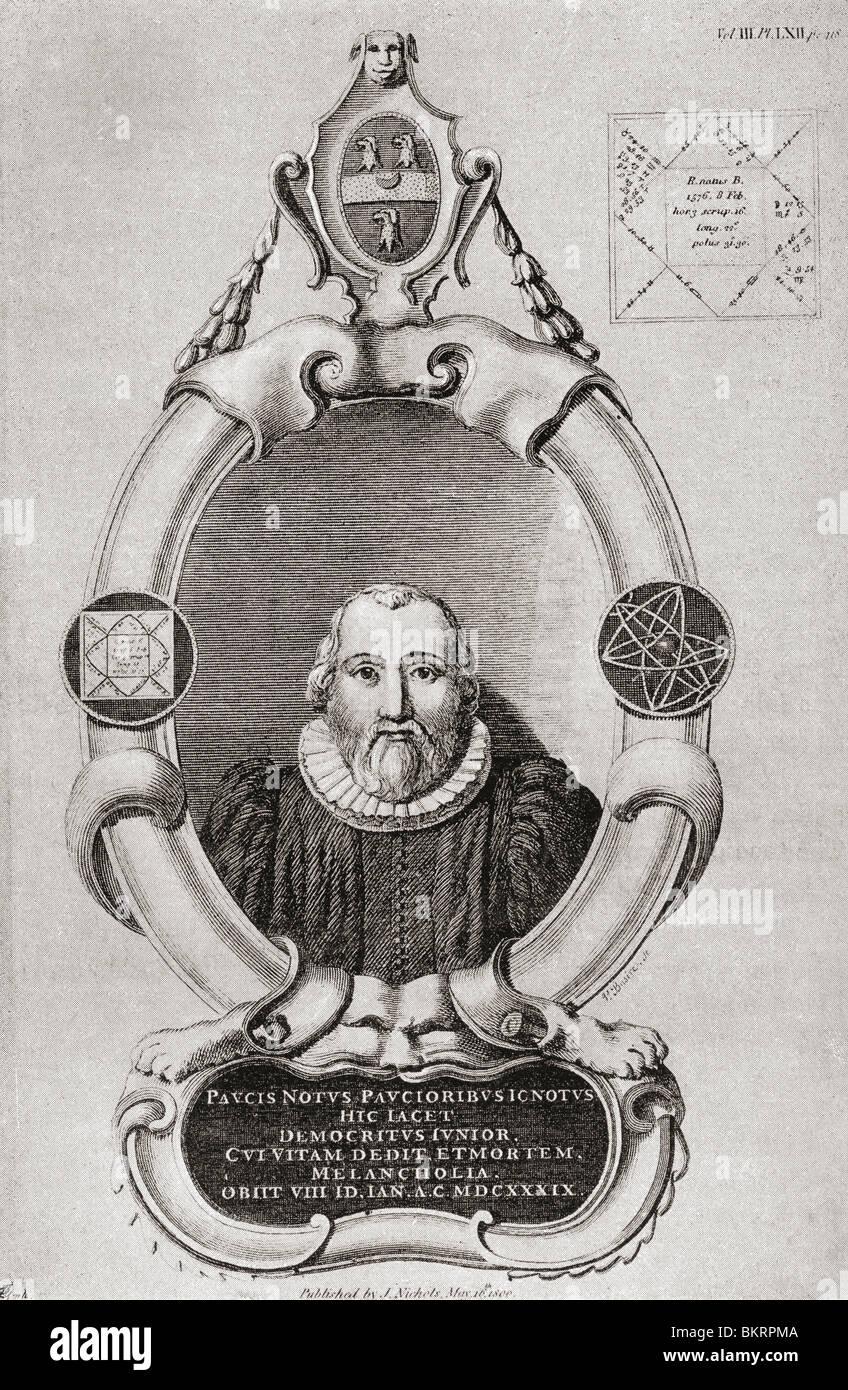 Robert Burton, de 1577 a 1640. Vicario y erudito inglés en la ...