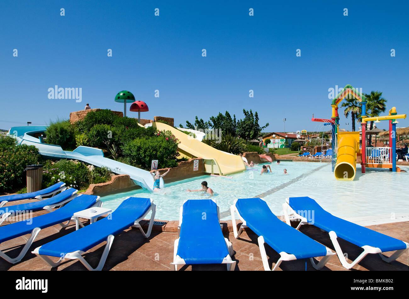 Parque Acuático Splashtastic Calan Forcat Menorca España Foto