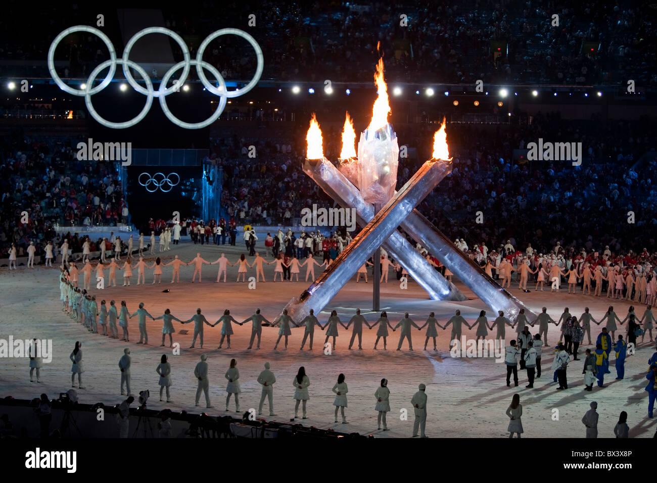 Juegos Olimpicos De Invierno De Vancouver 2010 Ceremonia De