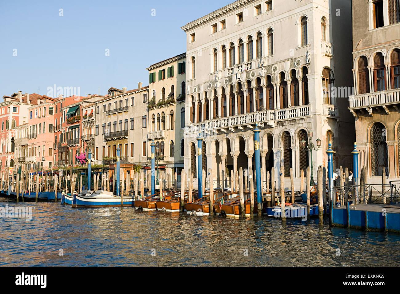 El gran canal de Venecia, Italia Imagen De Stock