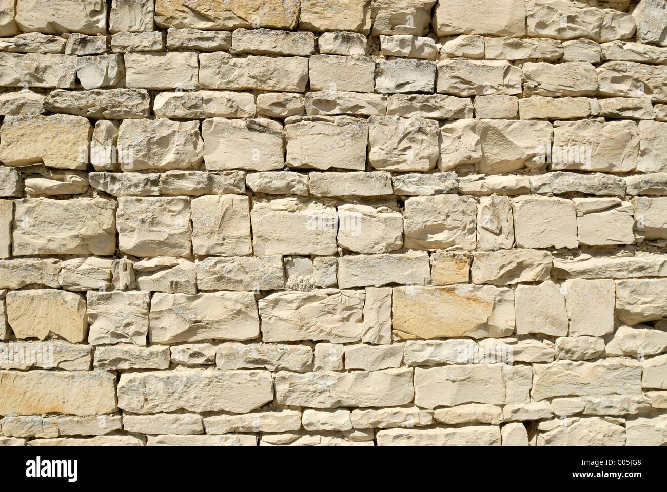 Seccion De Una Pared Exterior De Piedra Caliza Utilizada Para - Piedra-pared-exterior