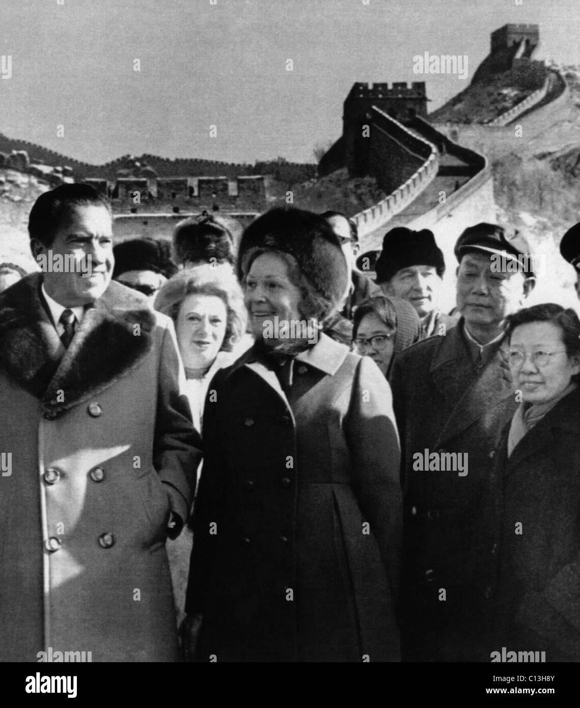 Resultado de imagen para Visita de Richard Nixon a China en 1972