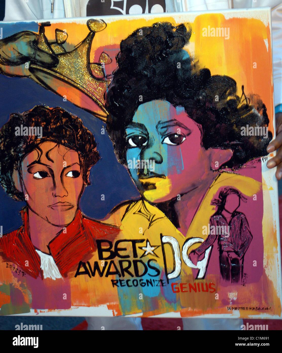 Michael Jackson Art Imágenes De Stock & Michael Jackson Art Fotos De ...