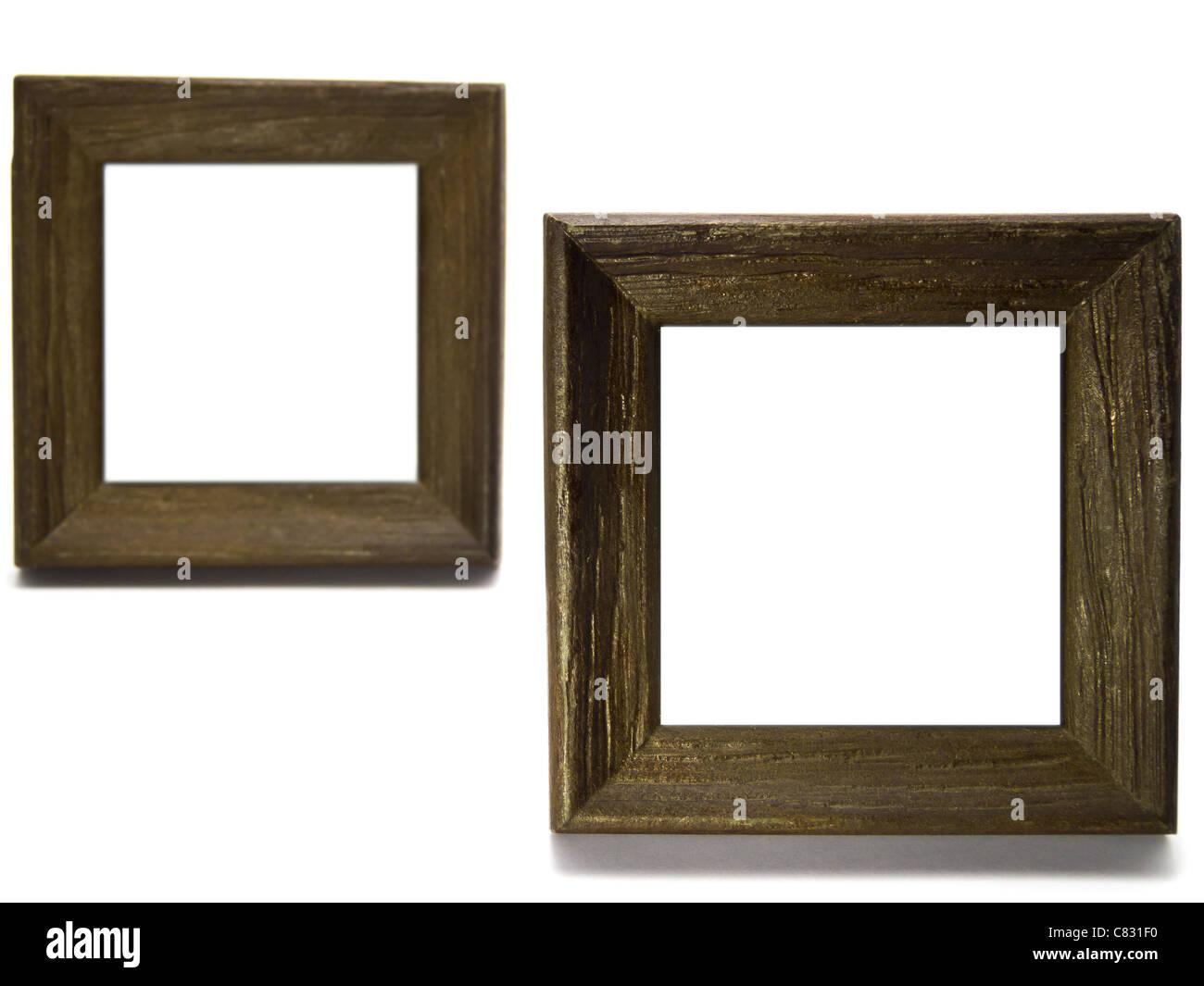 Los pequeños marcos de madera Foto & Imagen De Stock: 39405044 - Alamy