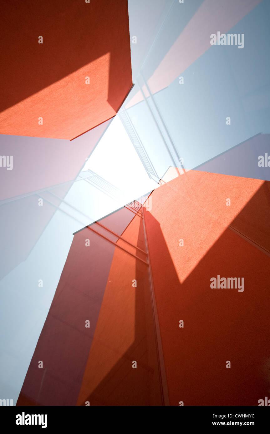 Diseño,rascacielos,resumen Imagen De Stock