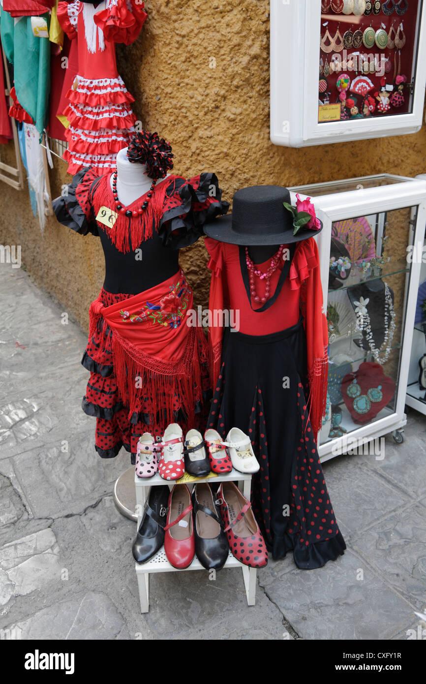 Venta de trajes de flamenca sevilla