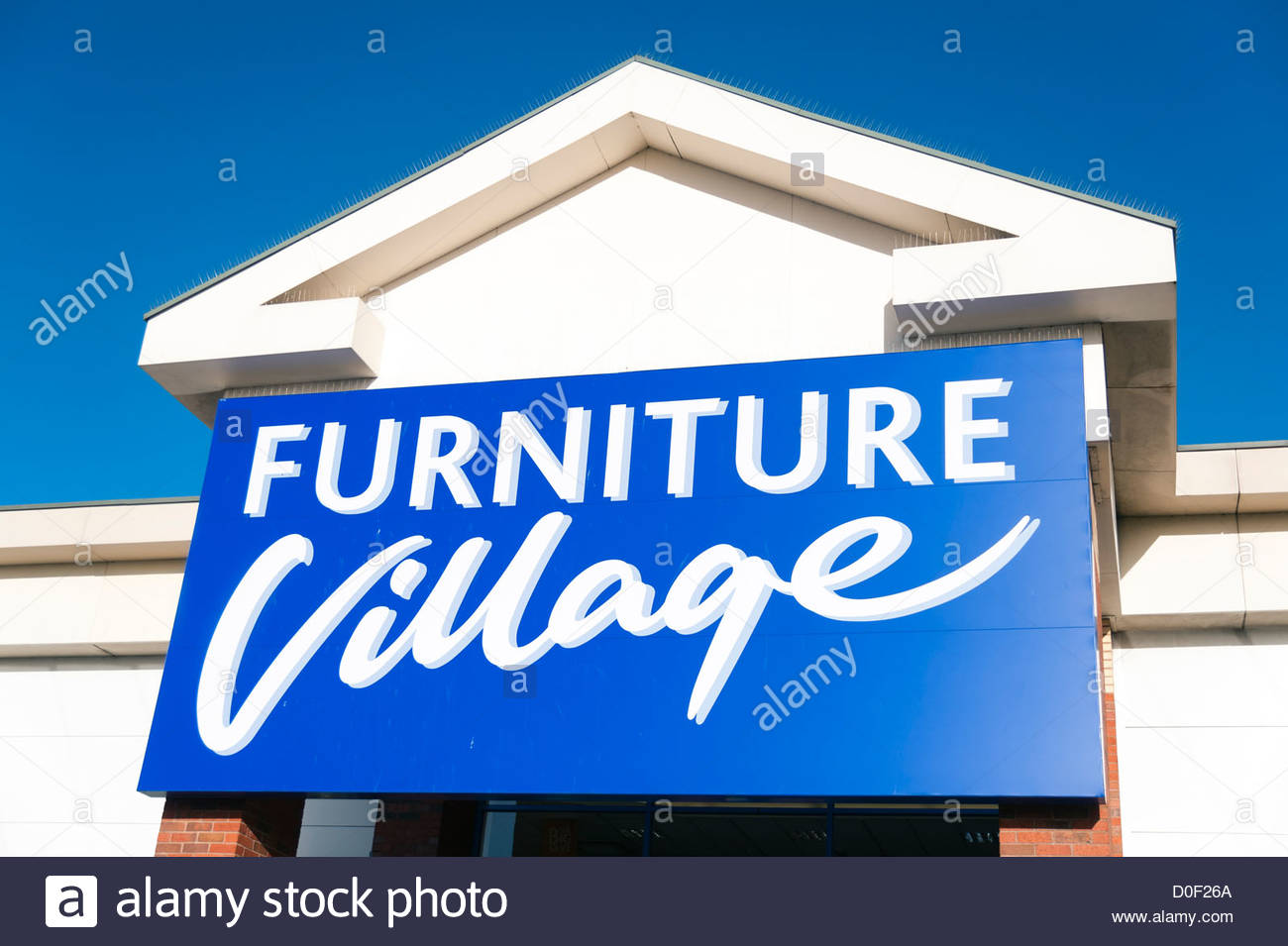furniture village store uk Stock Photos & furniture village store uk ...