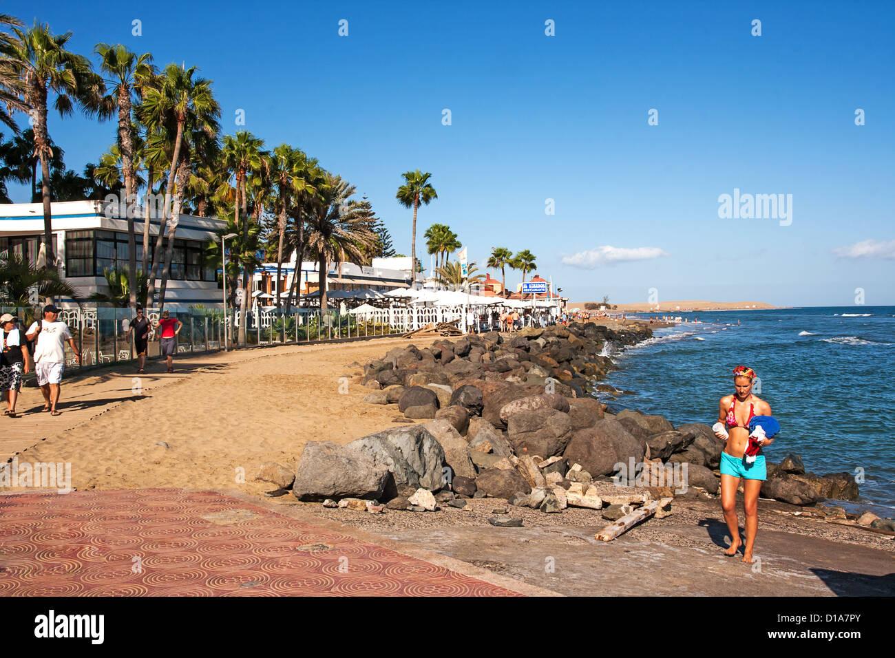 playa maspalomas restaurantes