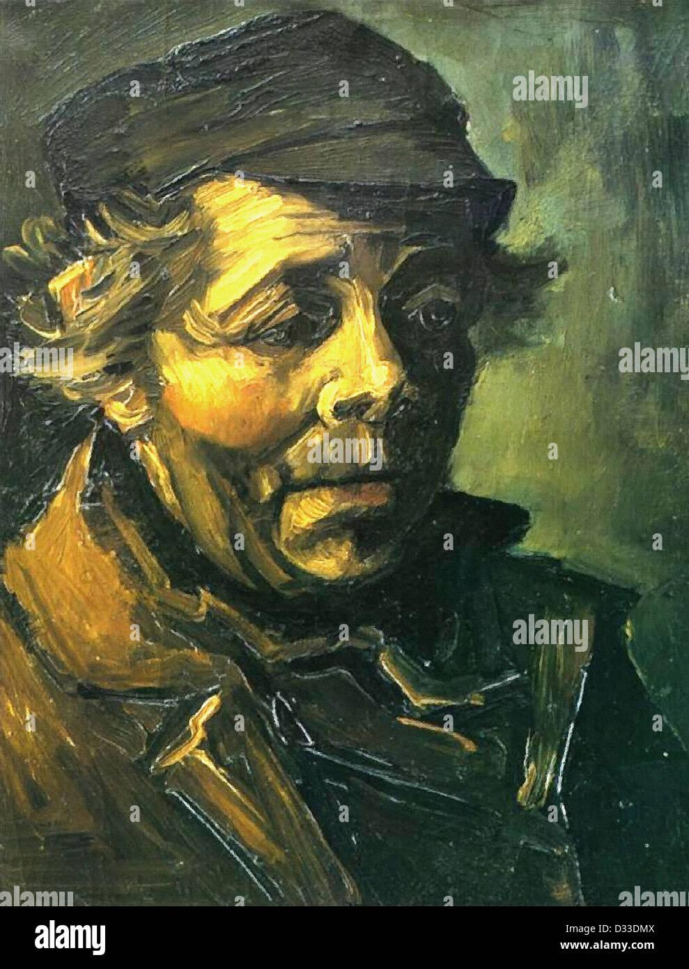Van Gogh Comedores De Patatas | Vincent Van Gogh Cabeza De Un Campesino Estudio De Los Comedores