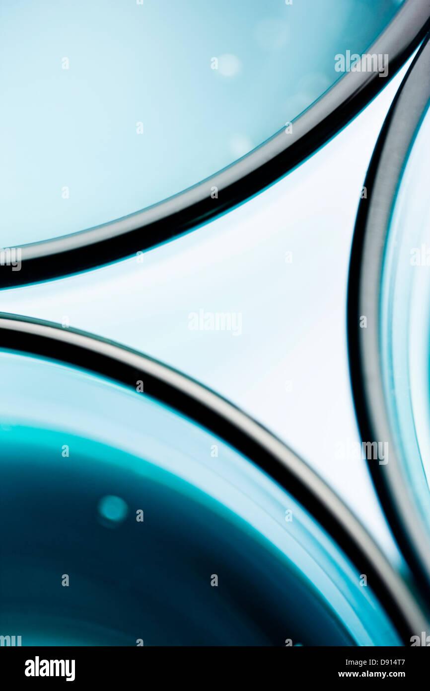 Patrón abstracto de vasos Imagen De Stock