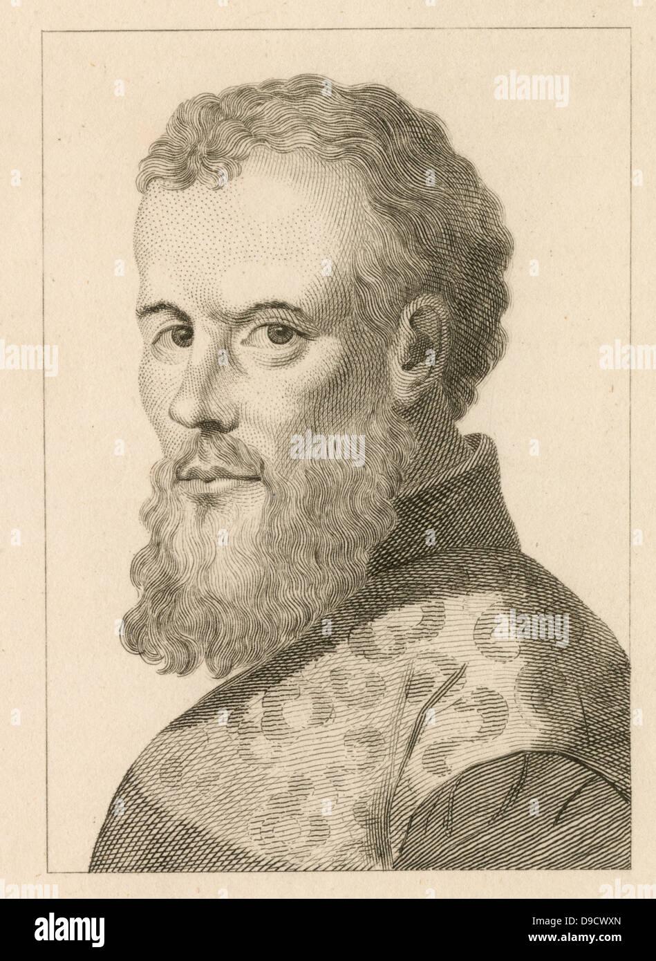 Andreas Vesalio (1514-1564), anatomista flamenco y el médico. Autor ...