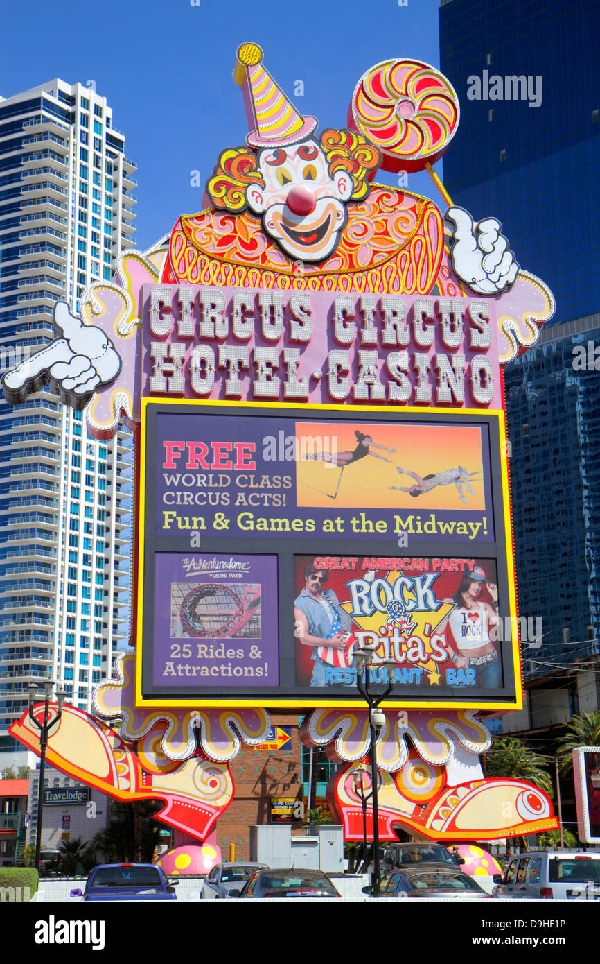Circus las vegas strip