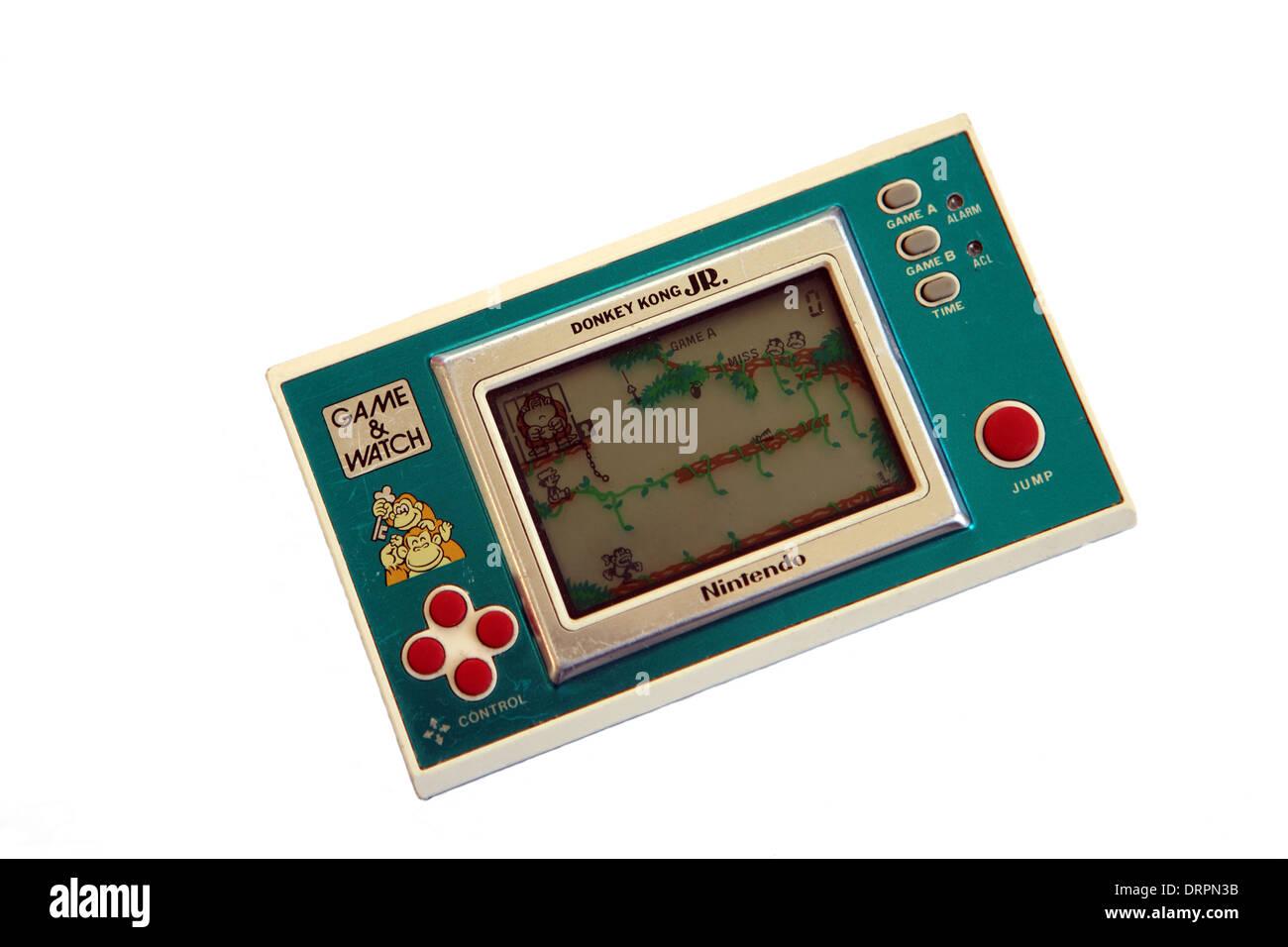 Nintendo Donkey Kong Jr 80 Juegos Electronicos De Mano Foto Imagen