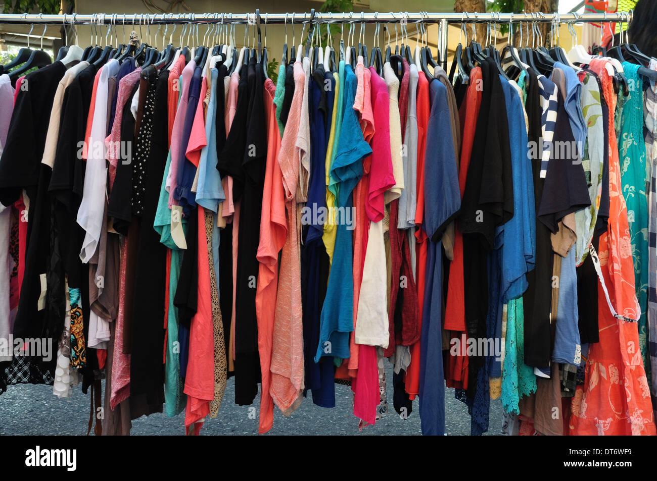 90533482499 Las mujeres casual Ropa de verano para la venta en el mercado de la calle.