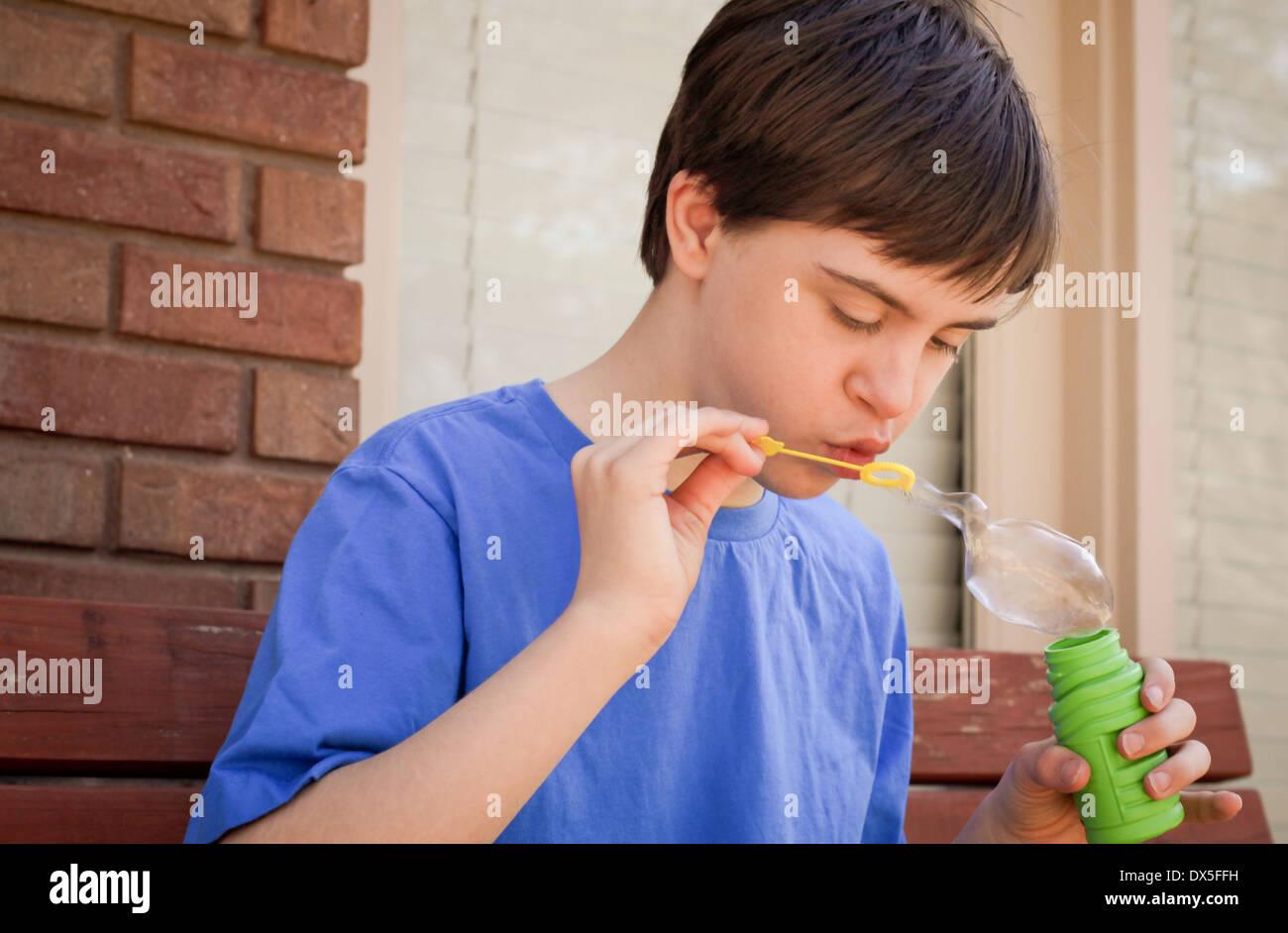 Juego Sensorial Para Ninos Con Autismo Foto Imagen De Stock