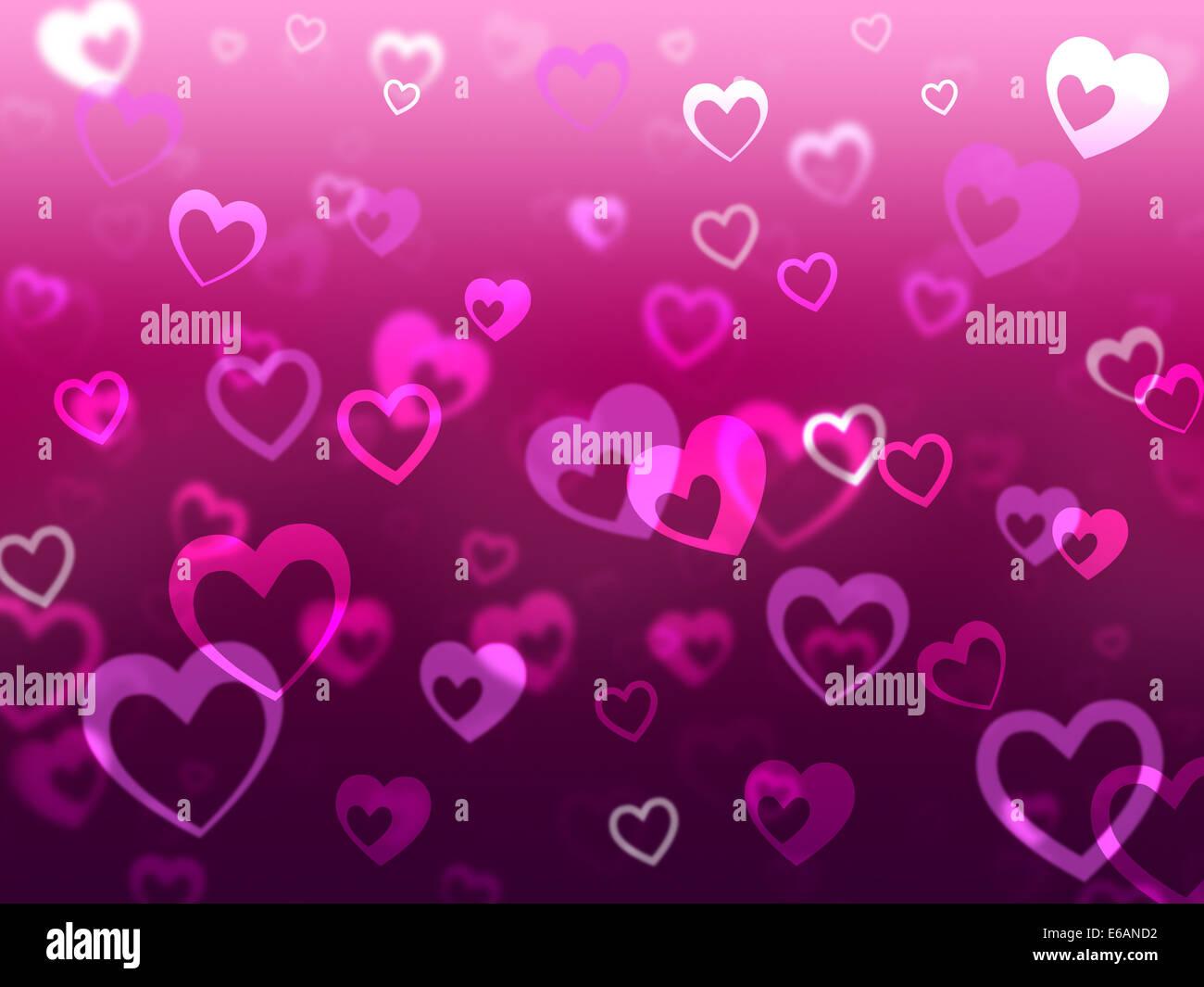 Corazones Significado De Fondo Y La Falta De Amor Y Romance Foto